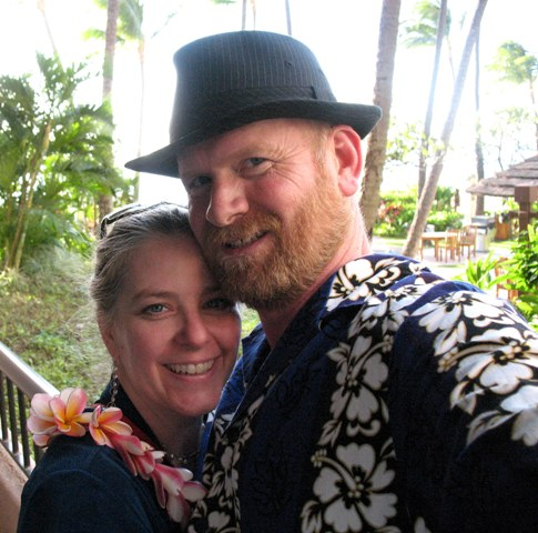 Paul and I in Maui