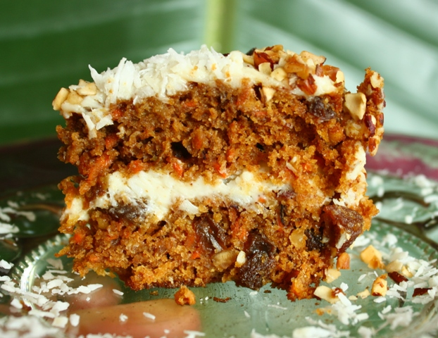 Moosewood Carrot Cake