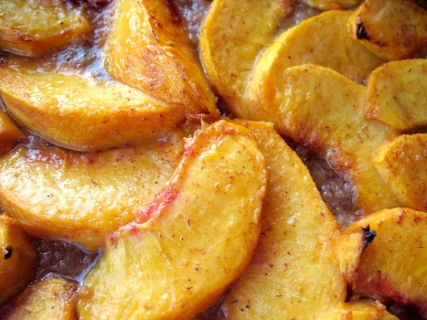 The perfect peach galette