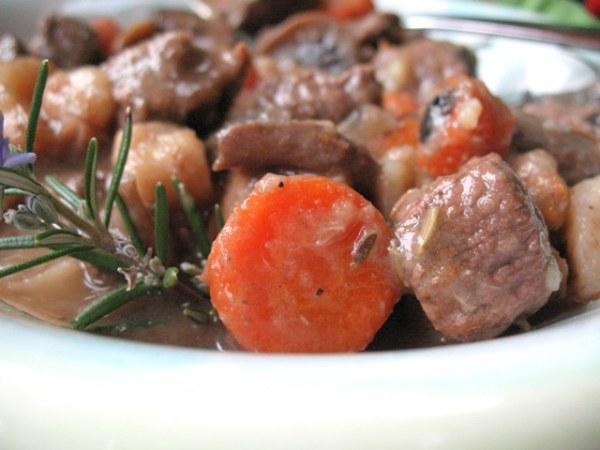 Hummmm, drunken beef stew