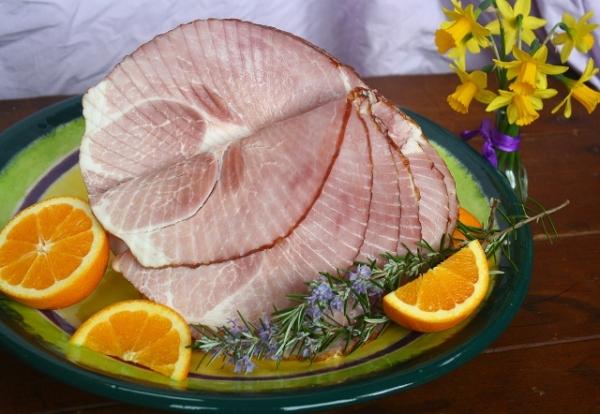Bourbon Orange Glazed Ham