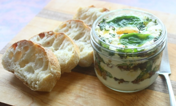 Potted chevre or montrachet