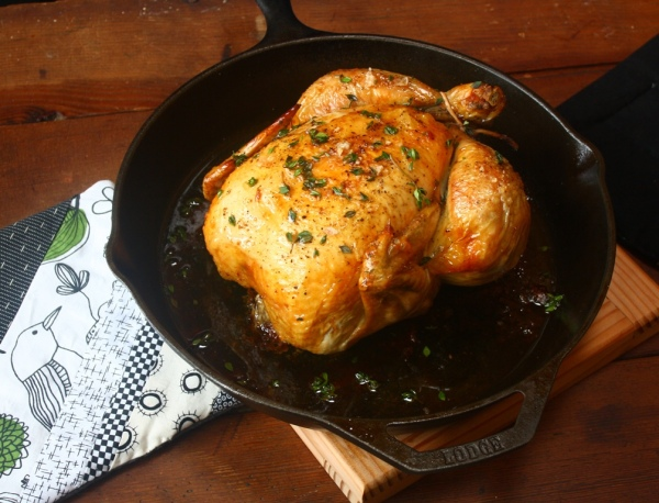 Thomas Keller's roast chicken recipe