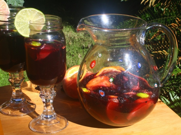 Sangria is a great summer drink